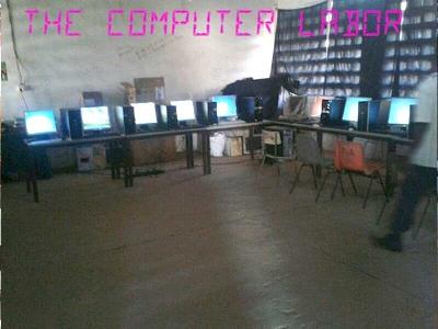 Computerraum in Gambia