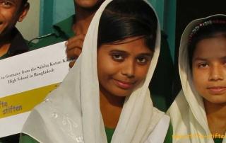 Stifte für Kinder in Bangladesch