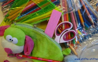 Grundschule Minna-Specht sammelt Stifte