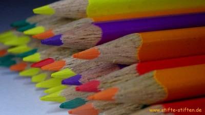 Buntstifte im Sammelprogramm der Jungschargruppen Reutlingen