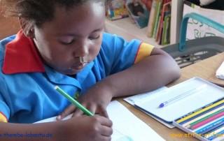 Stifte stiften für die Kinder von Themba Labantu