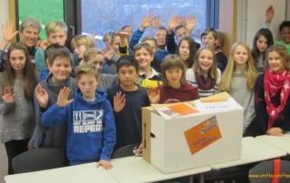 """""""Stifte stiften"""" der Klasse 6G3 der Ursulinenschule"""