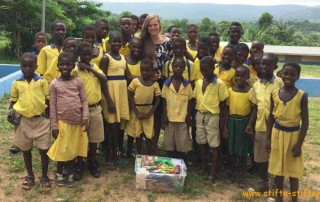 Tolle Bilder aus Ghana und jede Menge Freude