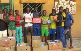 Stifte stiften für Burkina Faso
