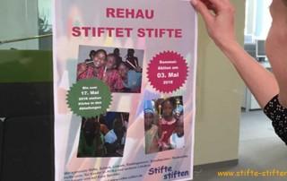 Auszubildende der REHAU GmbH engagieren sich im Thema Nachhaltigkeit