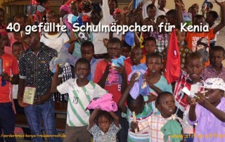 Stifte und Papier für Kinder und Schüler in Kenia