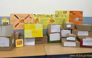 Stifte aus Baden-Baden der Schüler des MLG