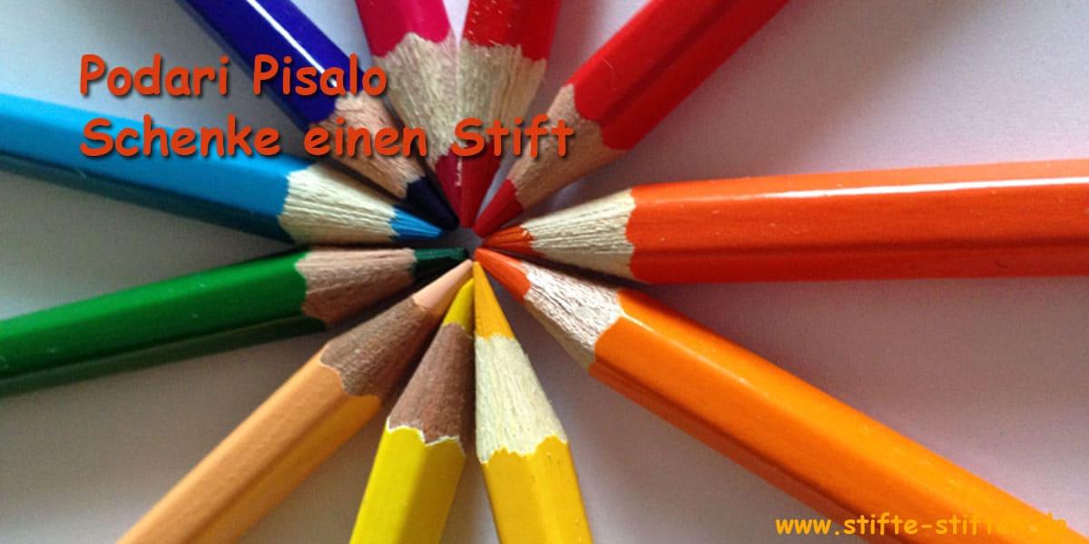Schenke einen Stift
