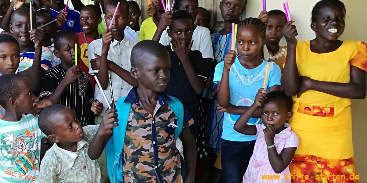 Stifte für Baharini in Kenia