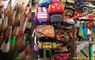 7.000 Buntstifte für Kpalimé, Togo