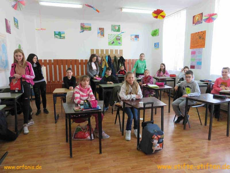 Dorfschule Toti in Rumänien