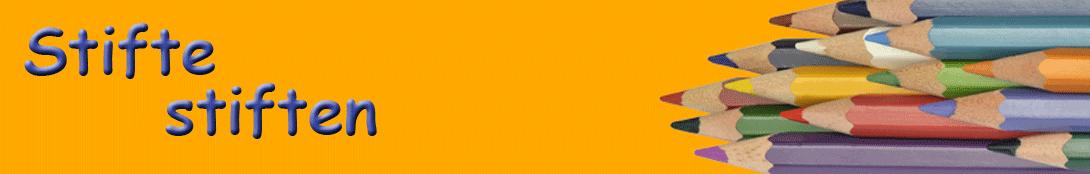Stifte stiften Logo